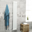 Belgravia 1800 x 287mm Tri-Column White Vertical Radiator