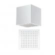 Quartino Square 200mm Deep Ceiling Shower Head