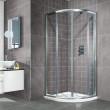 Aquafloe™ 6mm 800 x 800 Sliding Door Quadrant Enclosure