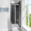 Aquafloe™ 6mm 700 Bi Fold Shower Door