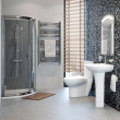Prima Aquafloe™ 800 Shower Cubicle Suite with Shower Tray