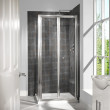 6mm 900 Bi Fold Door Shower Enclosure