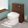 Aspen™ Walnut Back To Wall Unit & Impressions Toilet