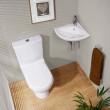Micro™ Corner Cloakroom Suite