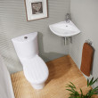 Prima Corner Cloakroom Suite