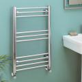 Eco Heat 800 x 500mm Straight Chrome Heated Towel Rail