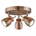 Jupiter LED Antique Copper Ceiling Spotlight