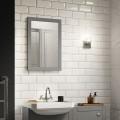 Nottingham Grey Framed Mirror 500(H) 700(W)