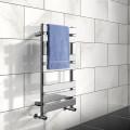 Juliet 800 x 500mm Flat Chrome Heated Towel Rail