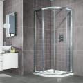Aquafloe™ 800 x 800 Sliding 6mm Door Quadrant Enclosure