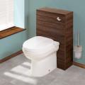 Aspen™ Walnut Back To Wall Unit & Impressions Toilet