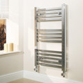 Beta Heat 800 x 450mm Square Chrome Heated Towel Rail