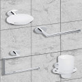 Polar 4 Piece Bathroom Accessory Pack