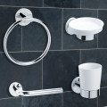 Classic 4 Piece Bathroom Accessory Pack