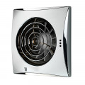 Hush Timer Humidity Chrome Fan