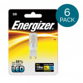 6 Pack - Energizer - LED G9 Warm White Light Bulb