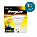 10 Pack - Energizer LED GU10 Warm White Light Bulb