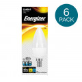 6 Pack - Energizer LED E14 Cool White Light Bulb