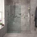 Reversible 1850 x 800 Wet Room Shower Screen