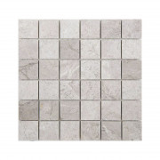 Silver Beige Honed Mosaic