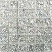 Antique Pearl Ice Large Square Wall Mosaic