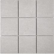 Cementi Light Grey Porcelain Mosaic