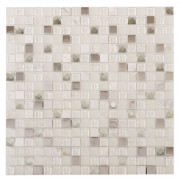 Jewel White Wall Mosaic