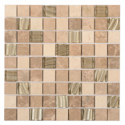Artisan Cream Wall Mosaic