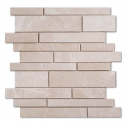 Aegean Cream Kragos Polished Mosaics