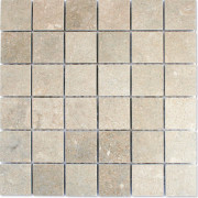 Fossil Grey Honed Mosaic