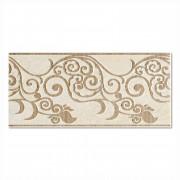 Marmo D Bianco Tralcio Border Wall Tile