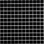 Black Glass Wall Mosaic