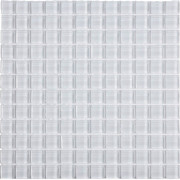 White Glass Wall Mosaic