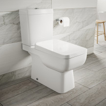 Carona Toilet and Soft Close Seat with Pan Connector