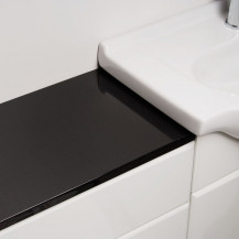 Windsor™ WC Black Worktop