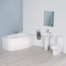 Prima 1500 Right Hand Corner Bathroom Suite