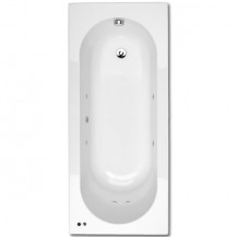 1700 x 700 Straight 6 Jet Whirlpool Bath