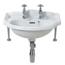Belfast 2 Tap Hole Wall Mounted Cloakroom Basin