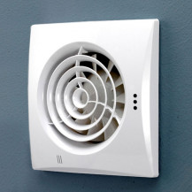 Hush White Wall Mounted Fan