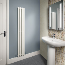 Nevada Beta Heat 1600 x 240mm Double Panel White Radiator