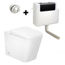 Bali Back to Wall Toilet with Concealed Cistern