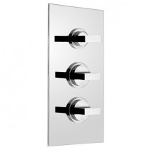 Geo Concealed Triple Control Thermostatic Shower Valve