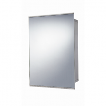 Stainless Steel Sliding Door Mirrored Cabinet 500(H) 340(W) 160(D)
