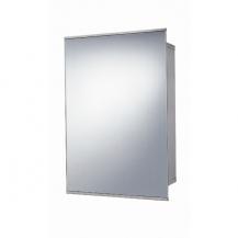 Stainless Steel Sliding Door Mirrored Cabinet 500(H) 340(W) 160(D)