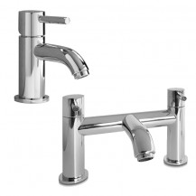 Lora Basin Mixer and Bath Filler Tap Pack