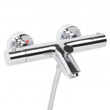 Peru Deluxe Wall Mounted Bath Shower Mixer