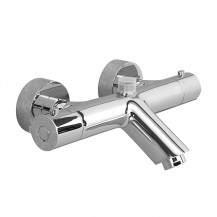 Peru Deluxe Wall Mounted Bath Shower Mixer with Top Outlet