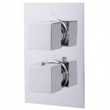 EcoCube Concealed Dual Control Shower Valve