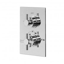 EcoStyle Concealed Dual Control Thermostatic Shower Valve