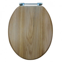 Natural Oak Solid Wood Toilet Seat